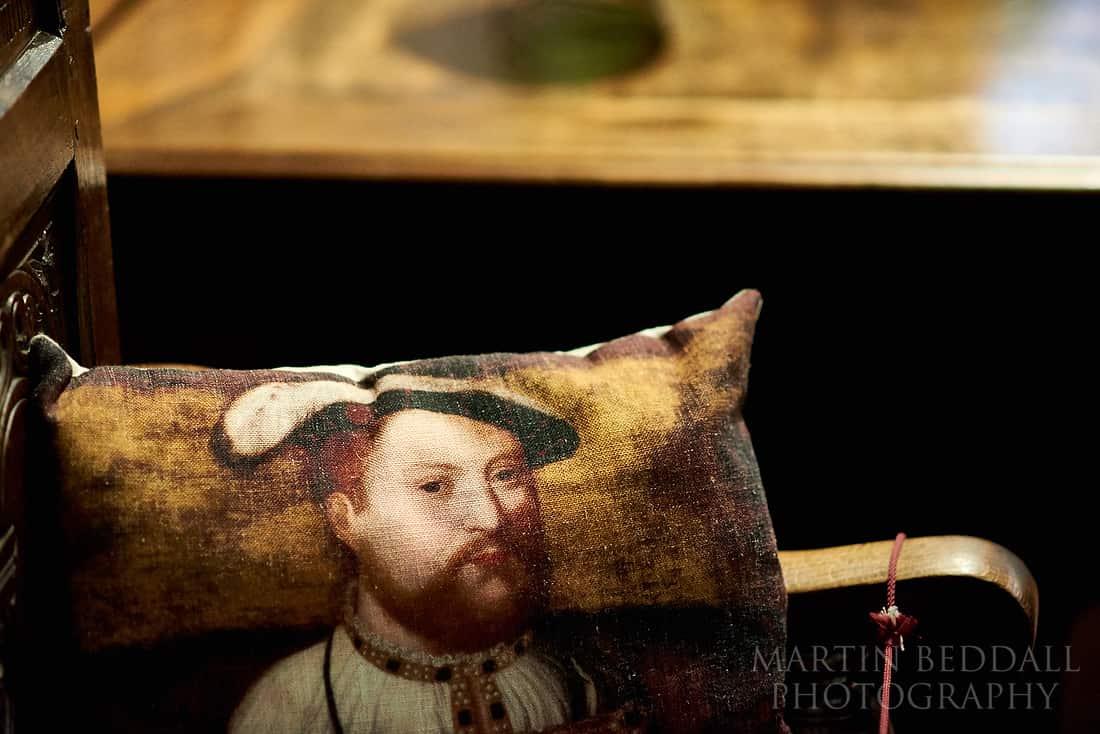 Henry VIII cushion