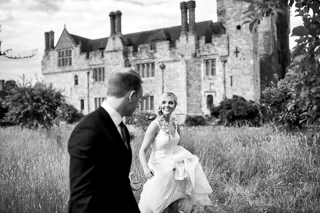 Hever Castle wedding