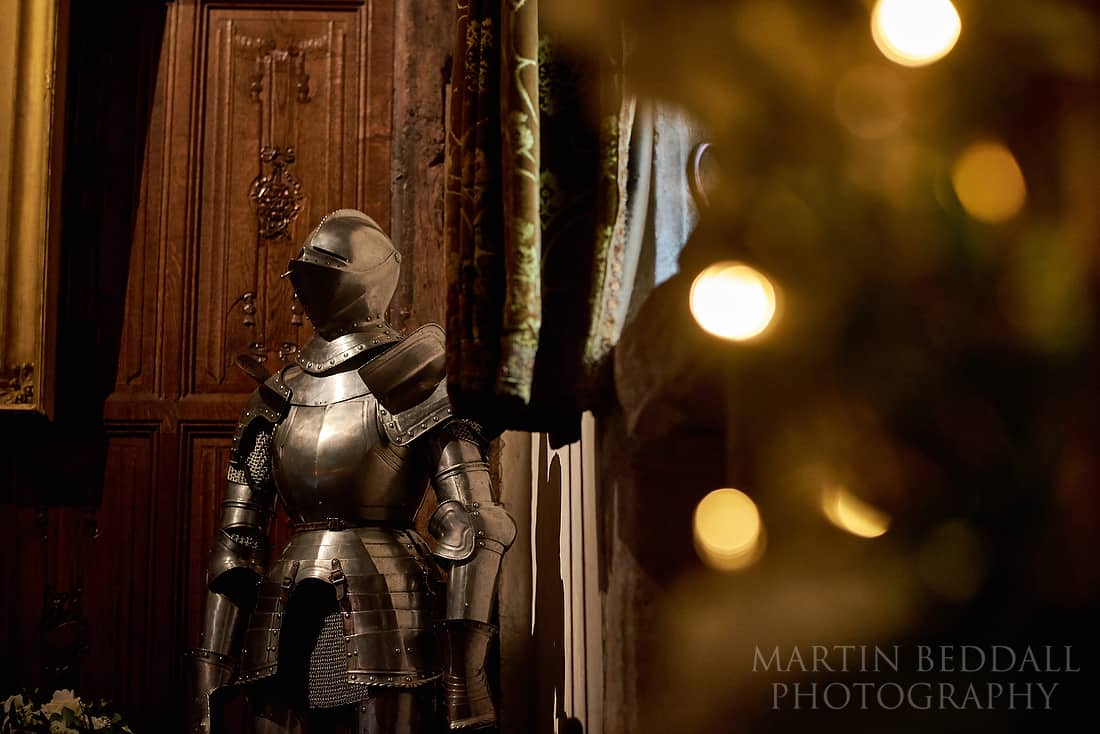 Suit of armour at Hever castle