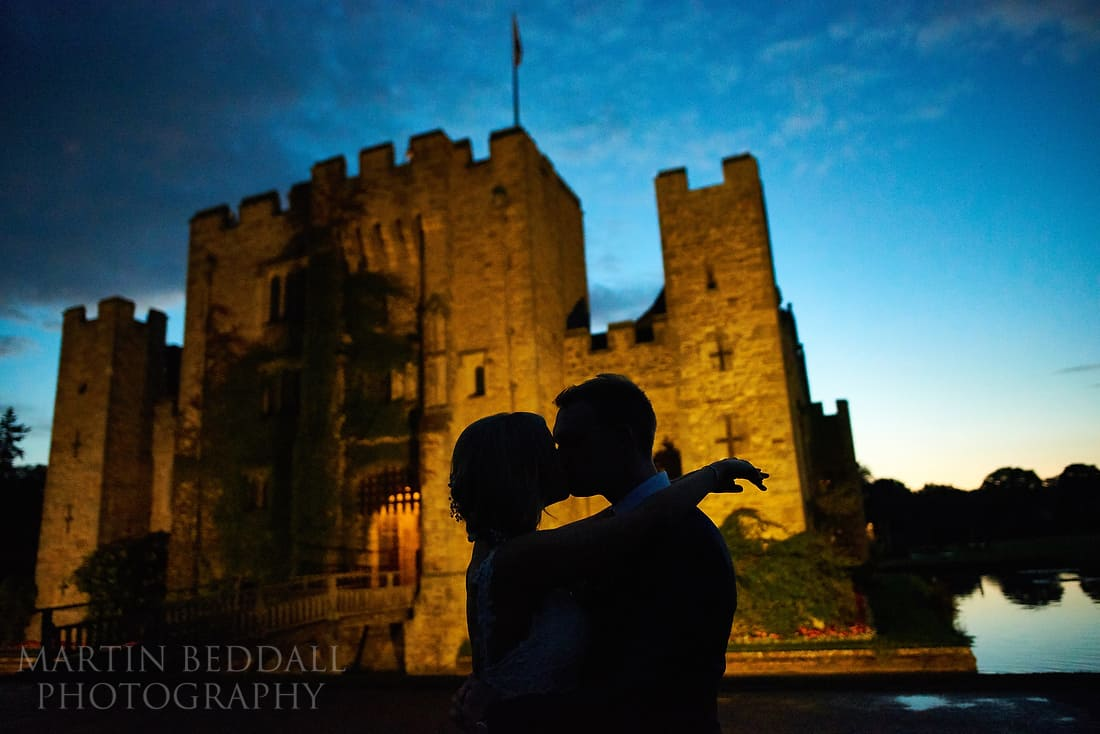 Romantic portrait at Hever castle