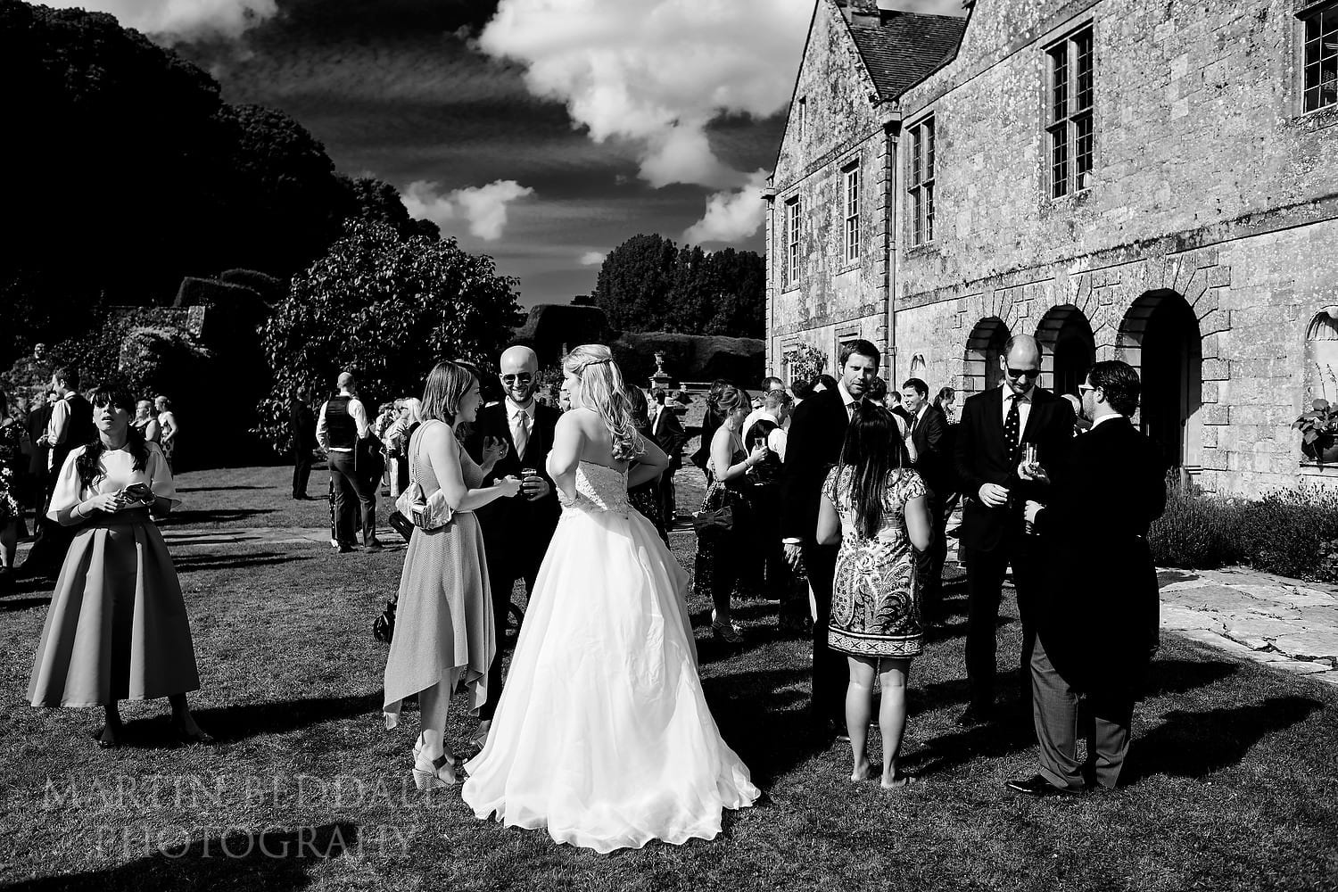 Wedding on the lawn at Hatch House