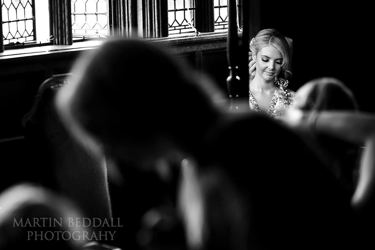Hever Castle bridal prep
