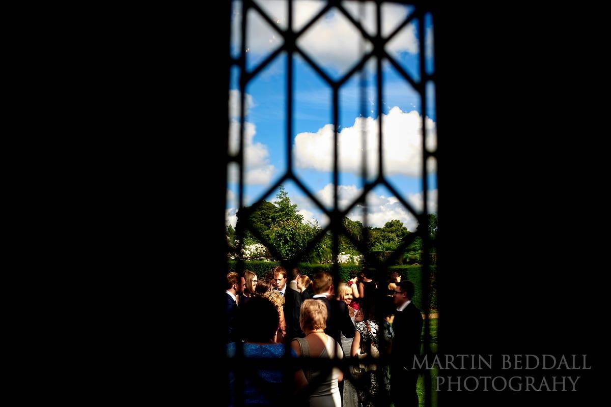 Hever Castle window