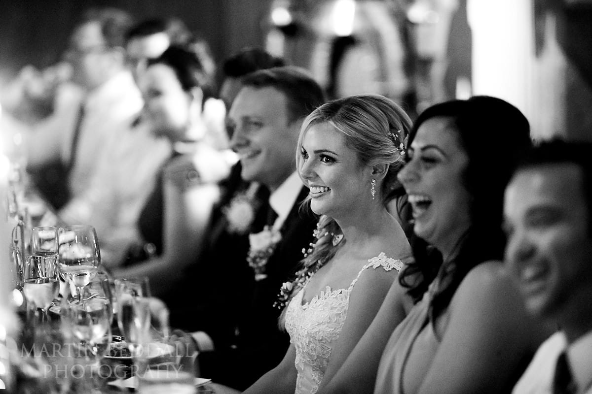 Hever Castle wedding speeches