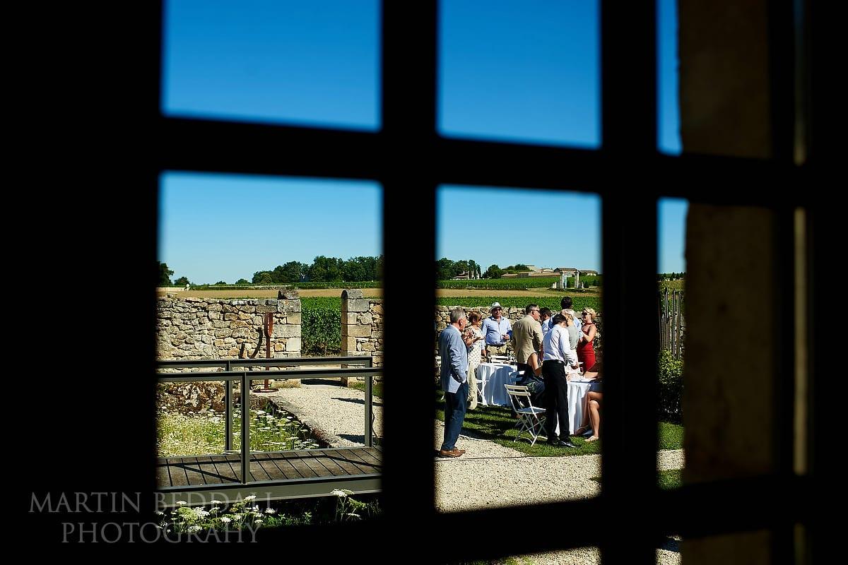 Reception at Château Soutard