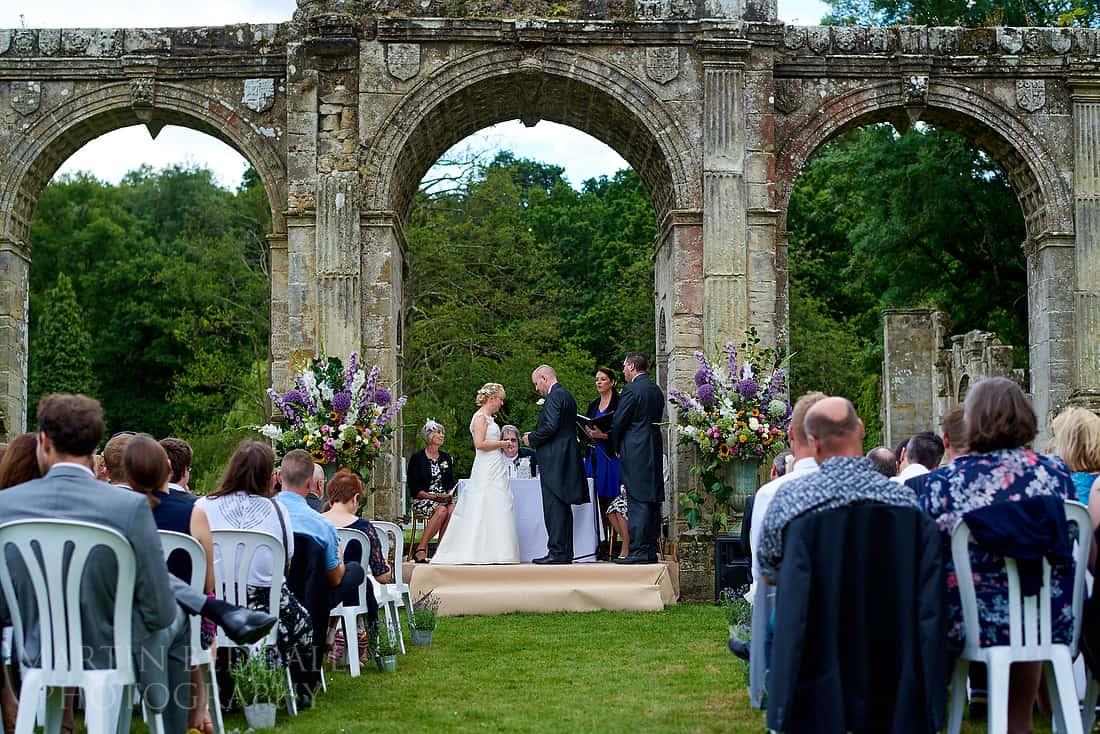 Slaugham Place wedding ceremony
