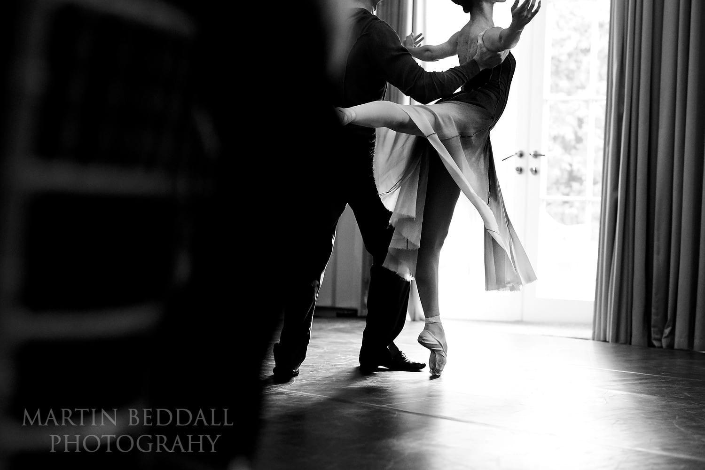 Ballet at Coworth Park wedding