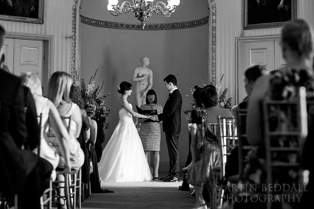 Goodwood House wedding ceremony