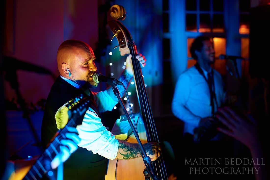 Hullabaloo band at a wedding