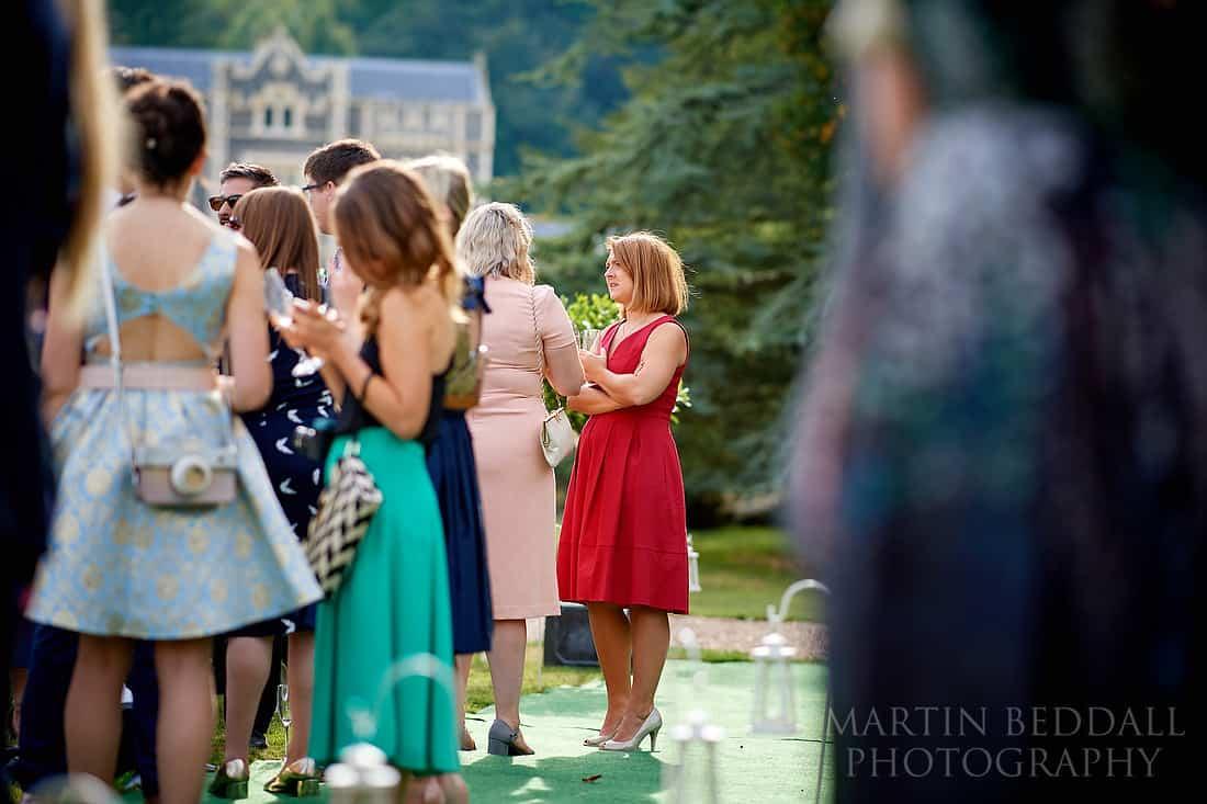 wedding reception at Folkington manor