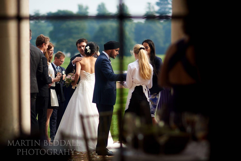Goodwood House wedding reception
