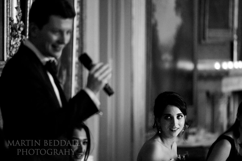 Goodwood House wedding speeeches
