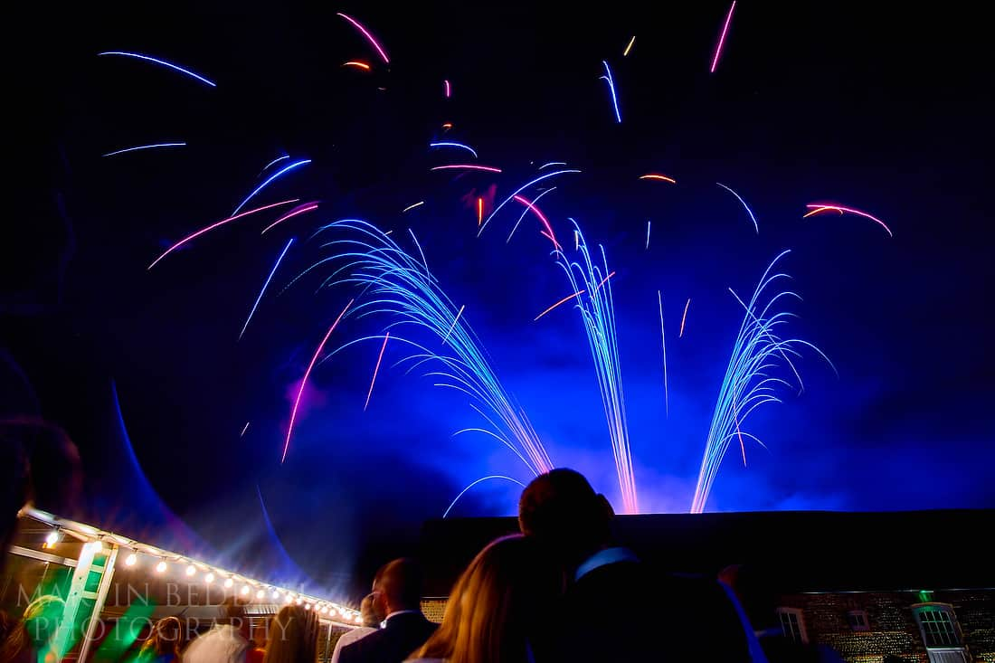 fireworks at Southend Barns