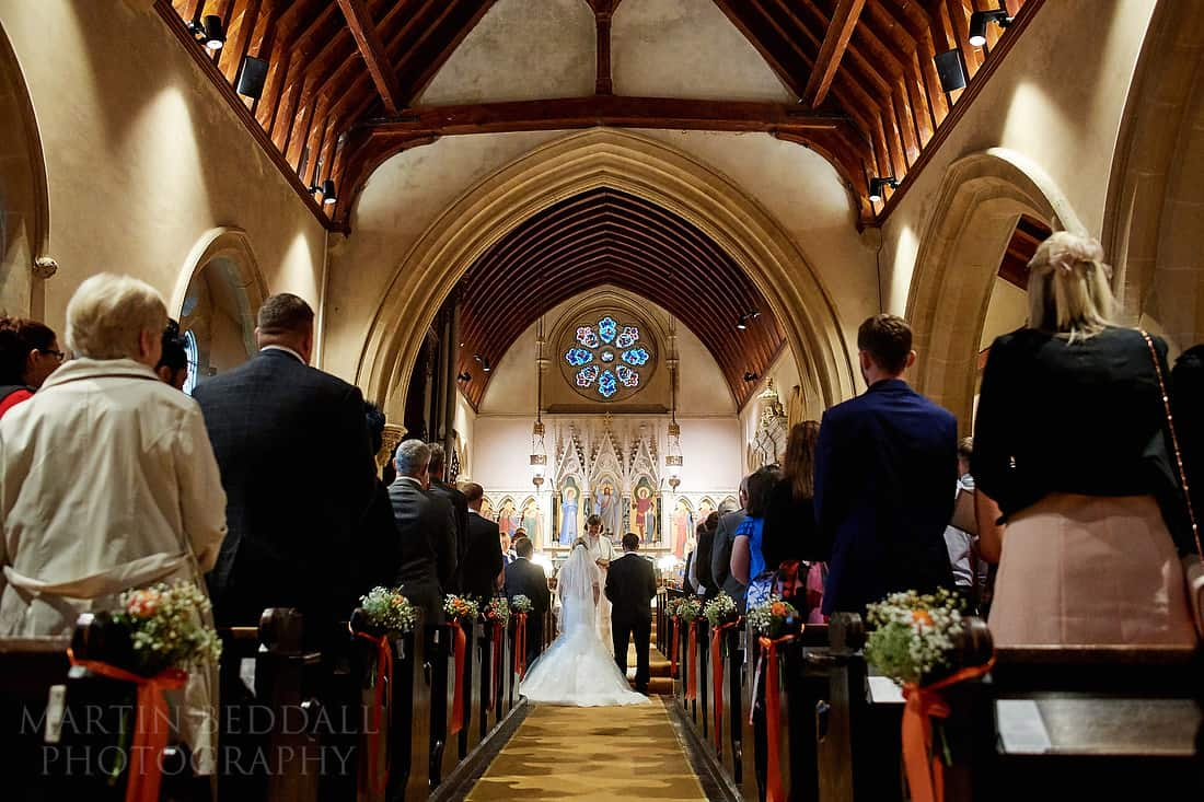 Highclere church wedding ceremony