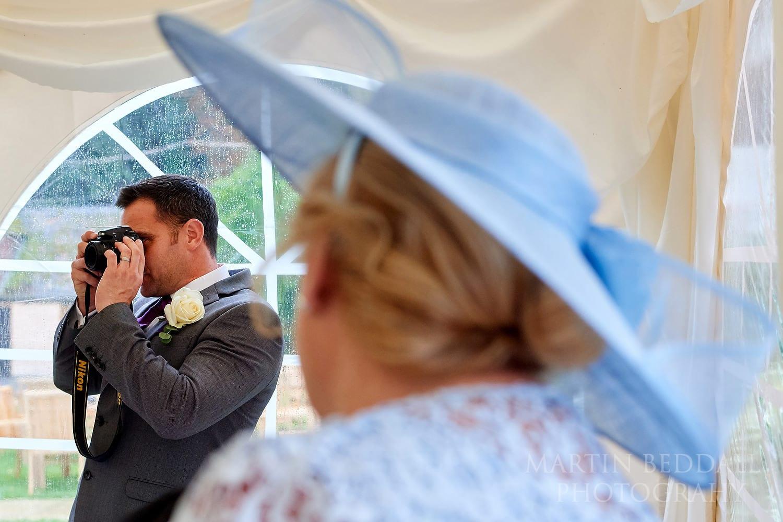 Burley Manor wedding reception