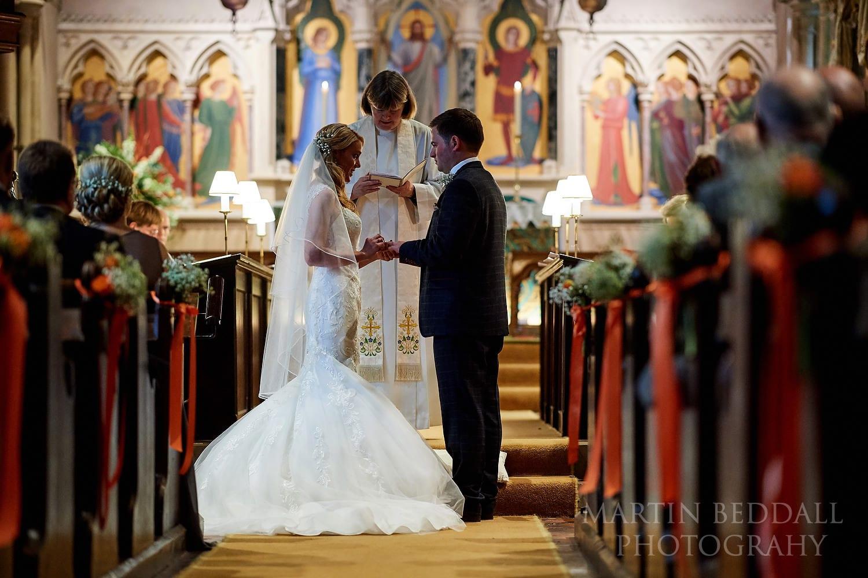 Highclere church wedding