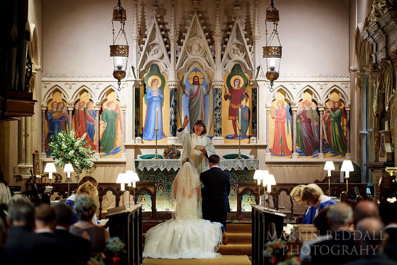 Highclere church blessing