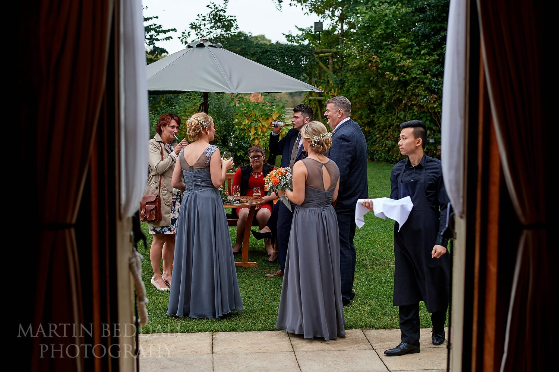 Clock Barn wedding reception