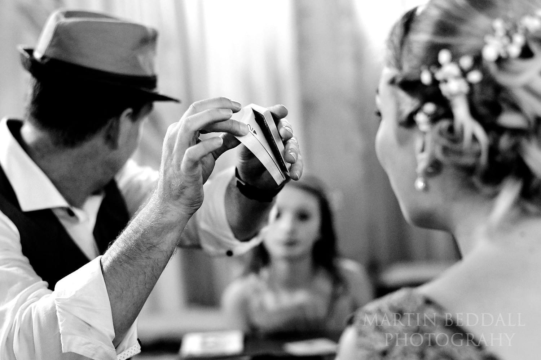Wedding card trick