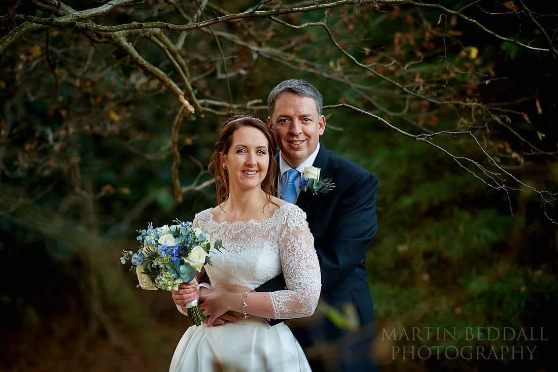 Sussex wedding couple portrait