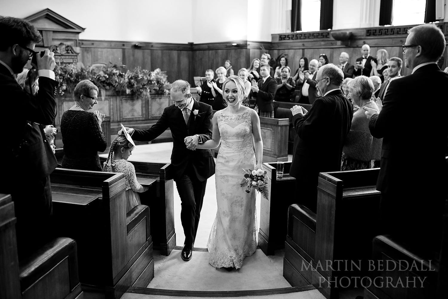 Town Hall Hotel wedding photography