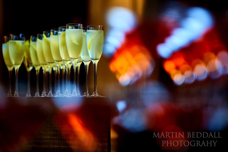 Town Hall Hotel wedding drinks