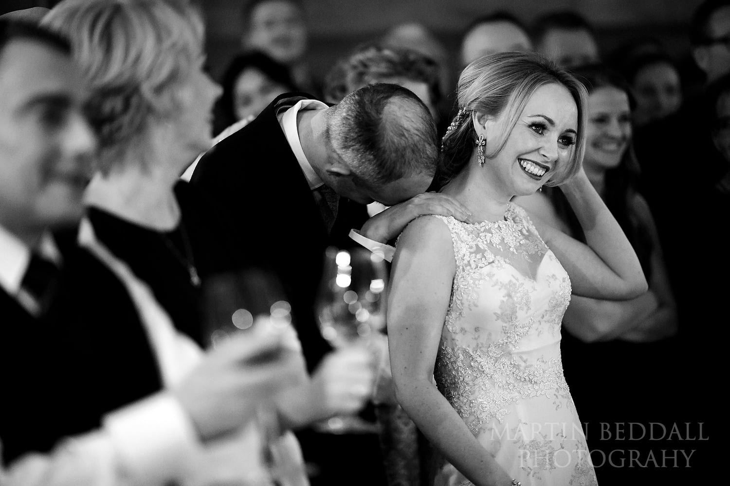 Speeches at Town Hall Hotel wedding