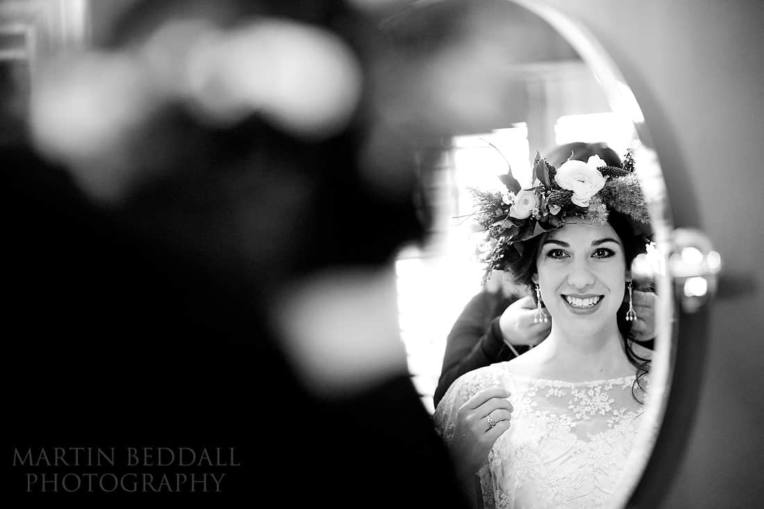 bride and her crown