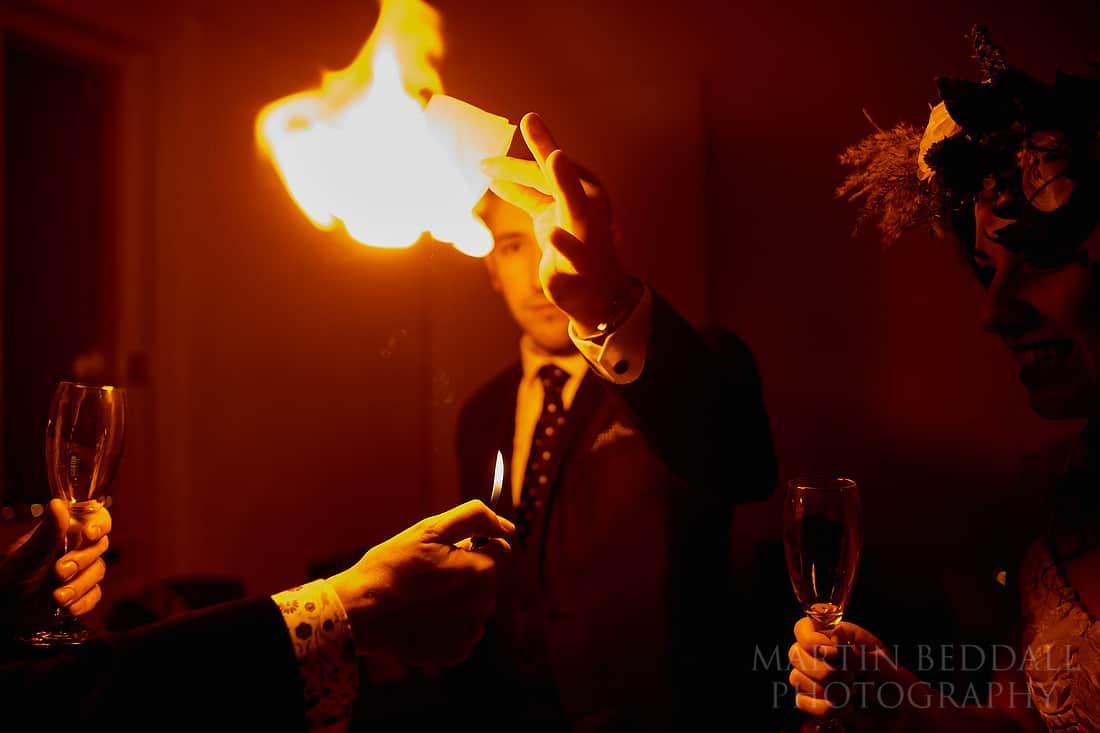 Edd Crafer wedding magician