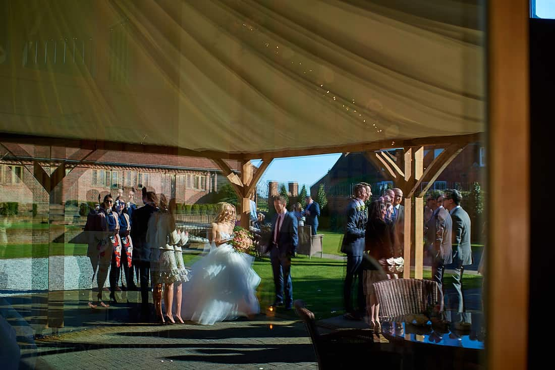 Wedding reception at Coltsfoot Country retreat