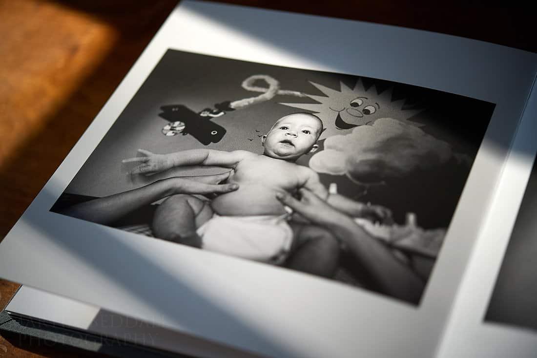 Book of childhood memories - in the nursery