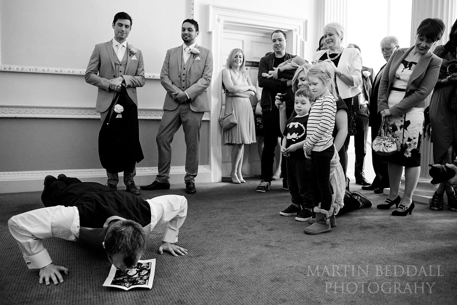 Tasks for the groom at this Chinese wedding at Buxted Park