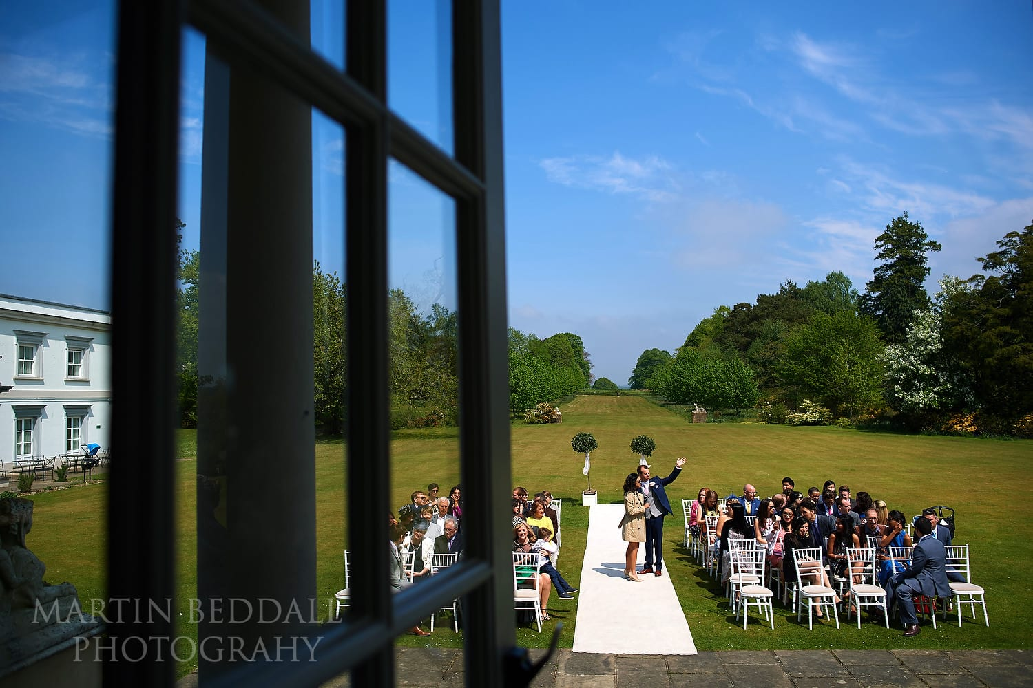 Buxted Park wedding day