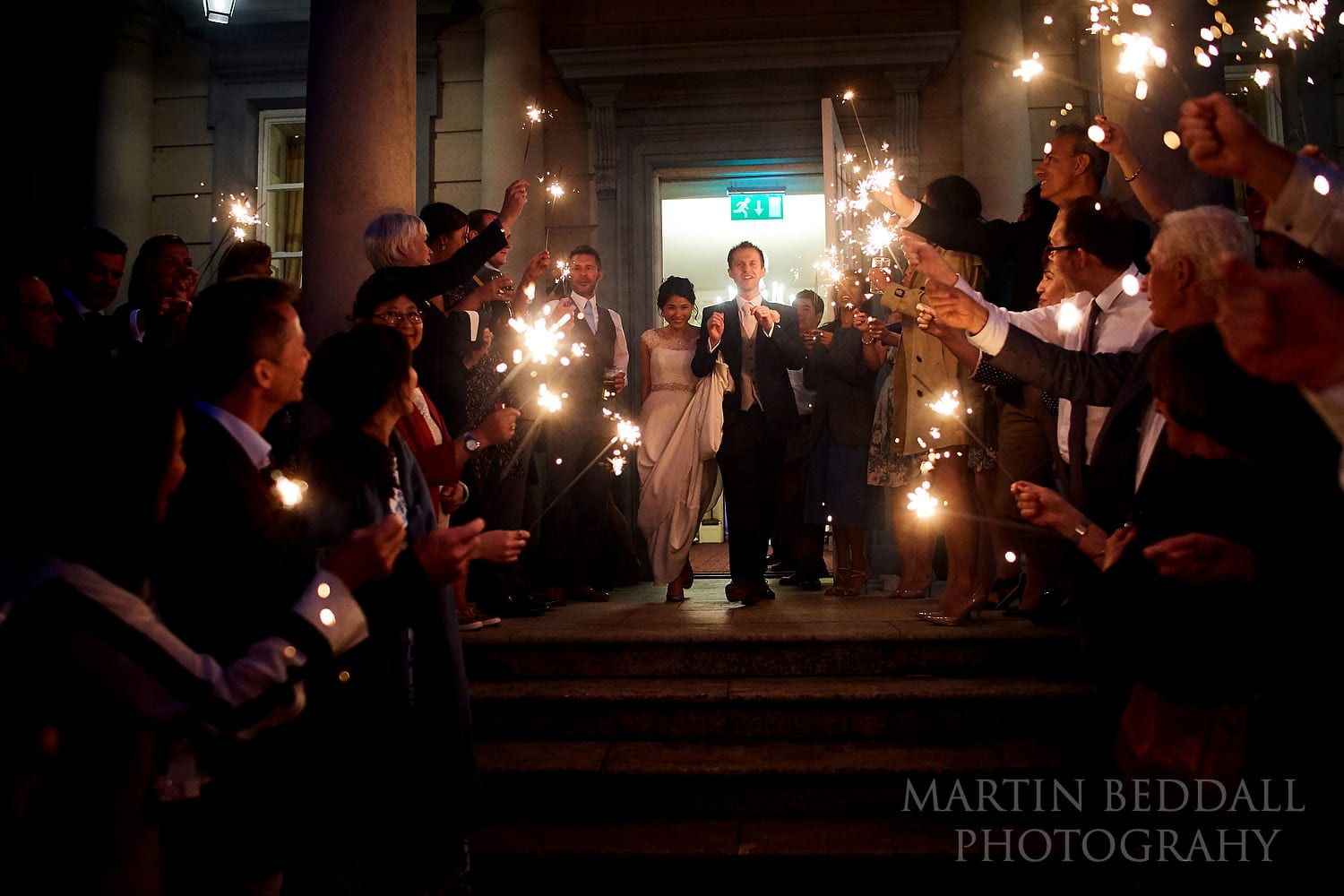 Sparklers at Buxted Park