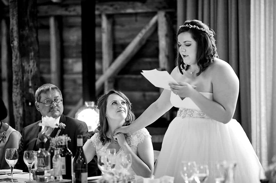 Two brides wedding speech