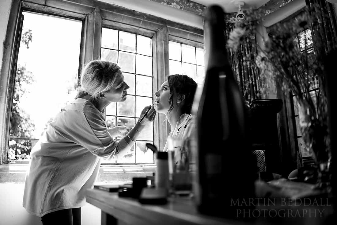 Bride getting ready taken on Sony A9