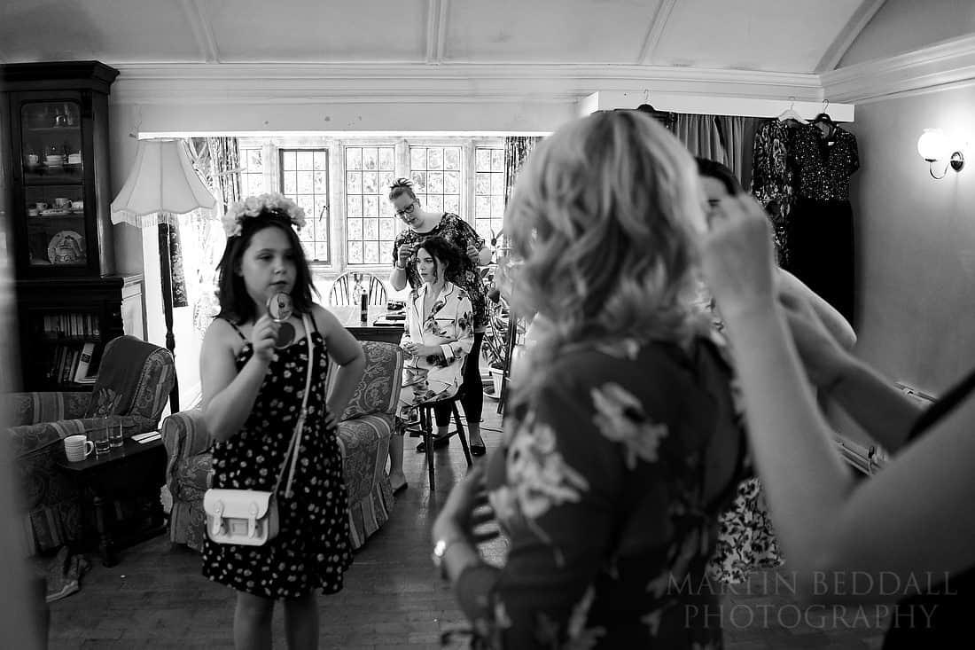 Chaos of bridal prep
