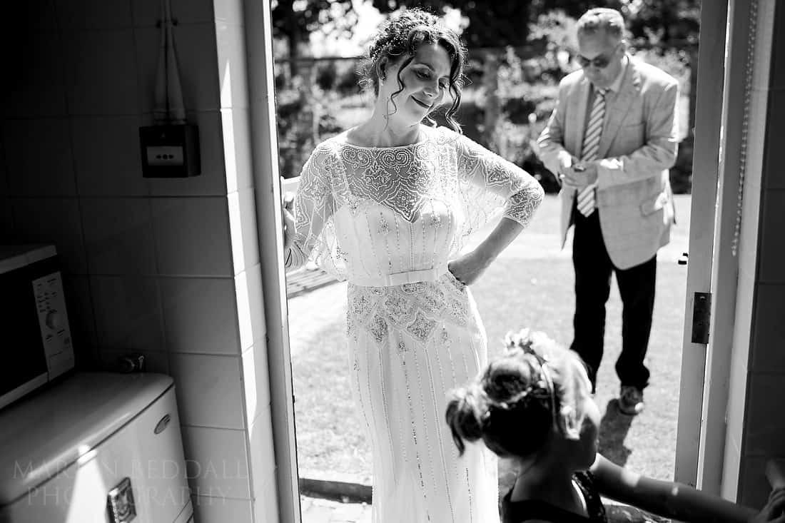 Chilling bride