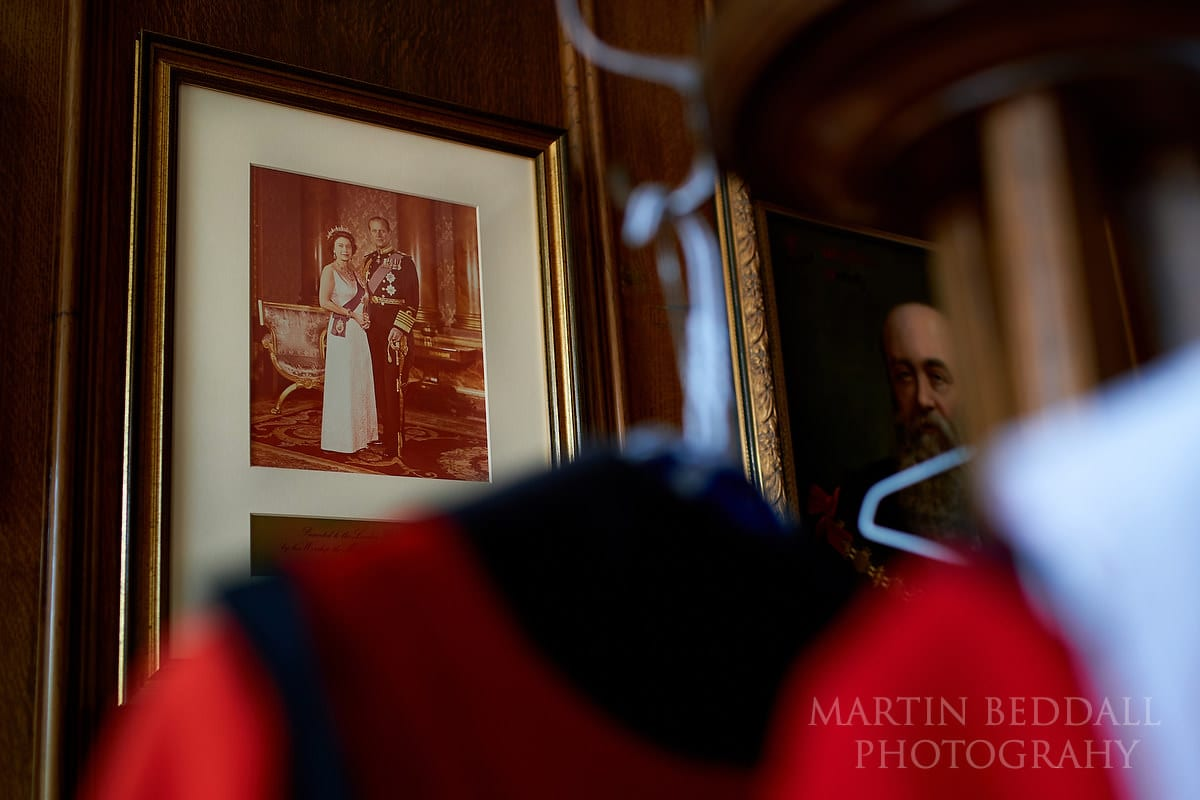 small London wedding in the Mayor's Parlour