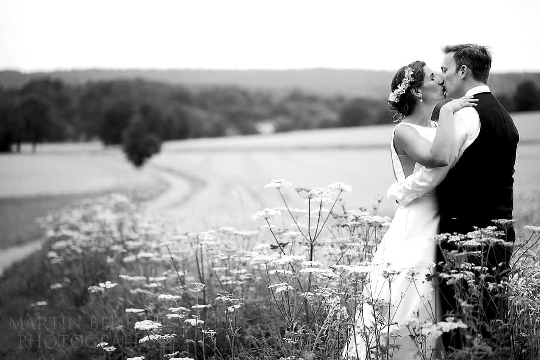Sussex wedding portrait