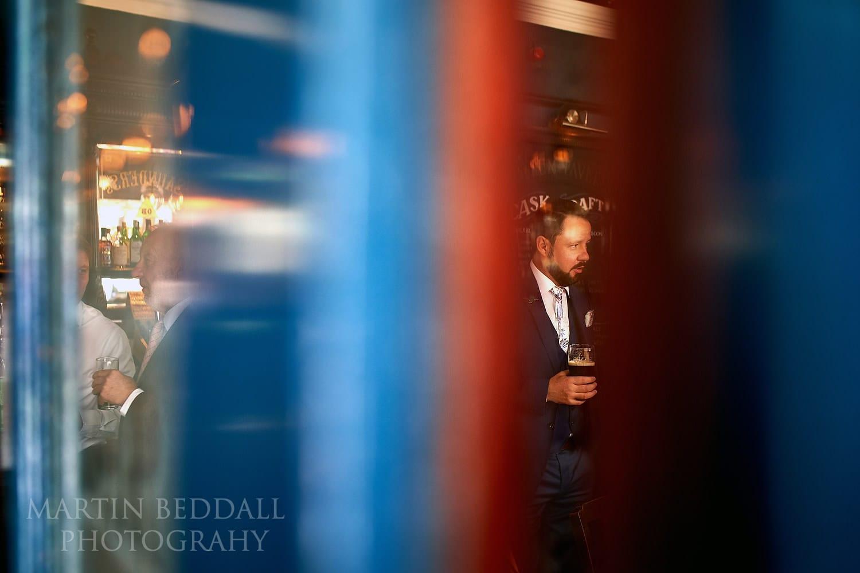 Bloomsbury pub drink for the groom