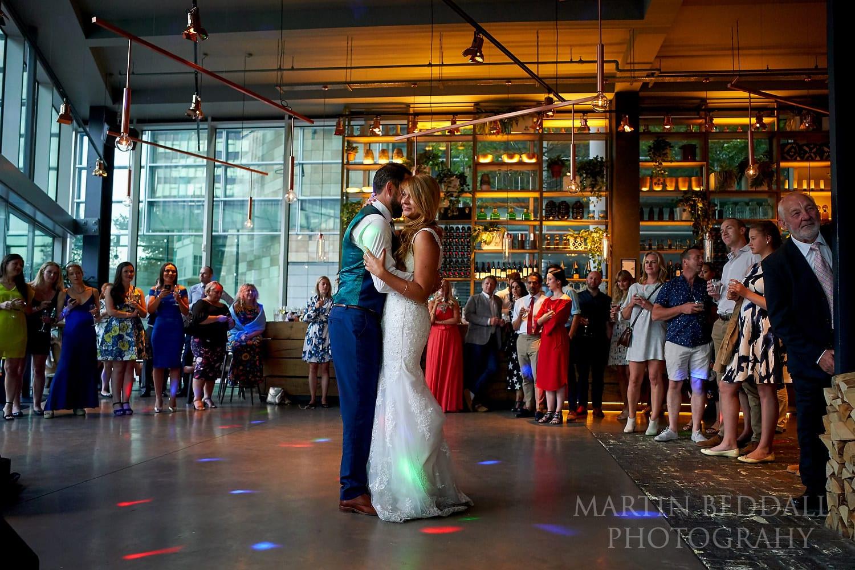 First dance at Bloomsbury wedding