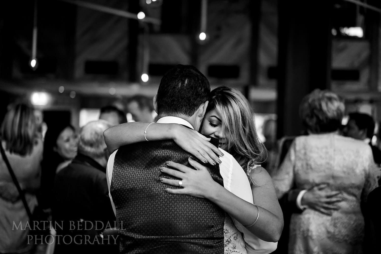 Bride and groom dance at Bloomsbury wedding