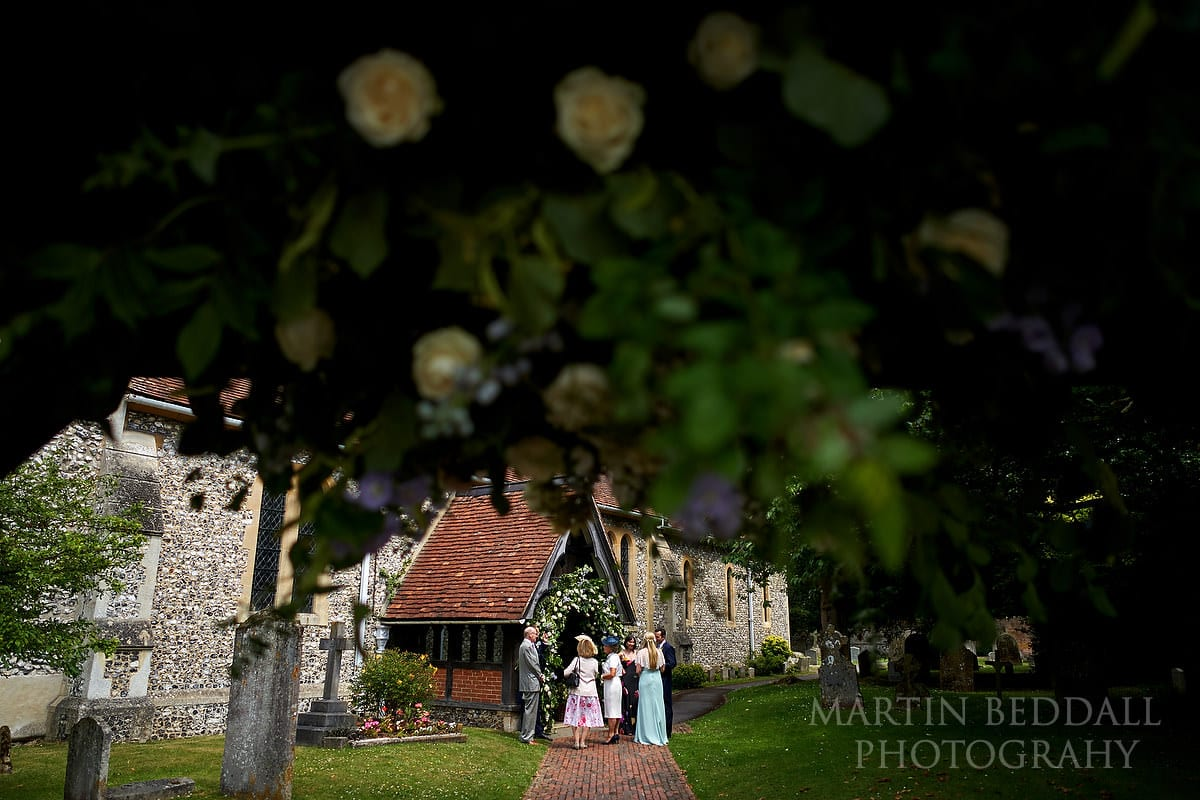 East Horsley church wedding