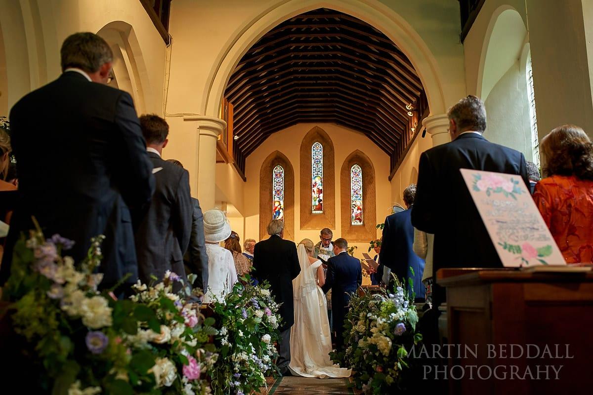 East Horsley wedding ceremony
