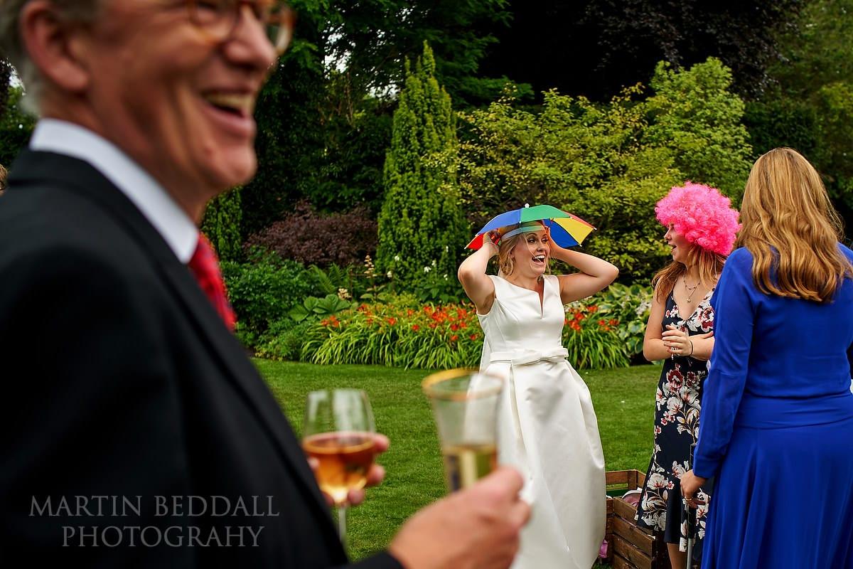 East Horsley wedding reception