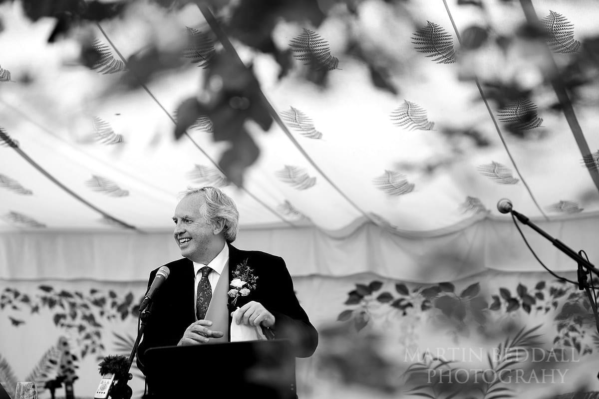 East Horsley wedding speeches