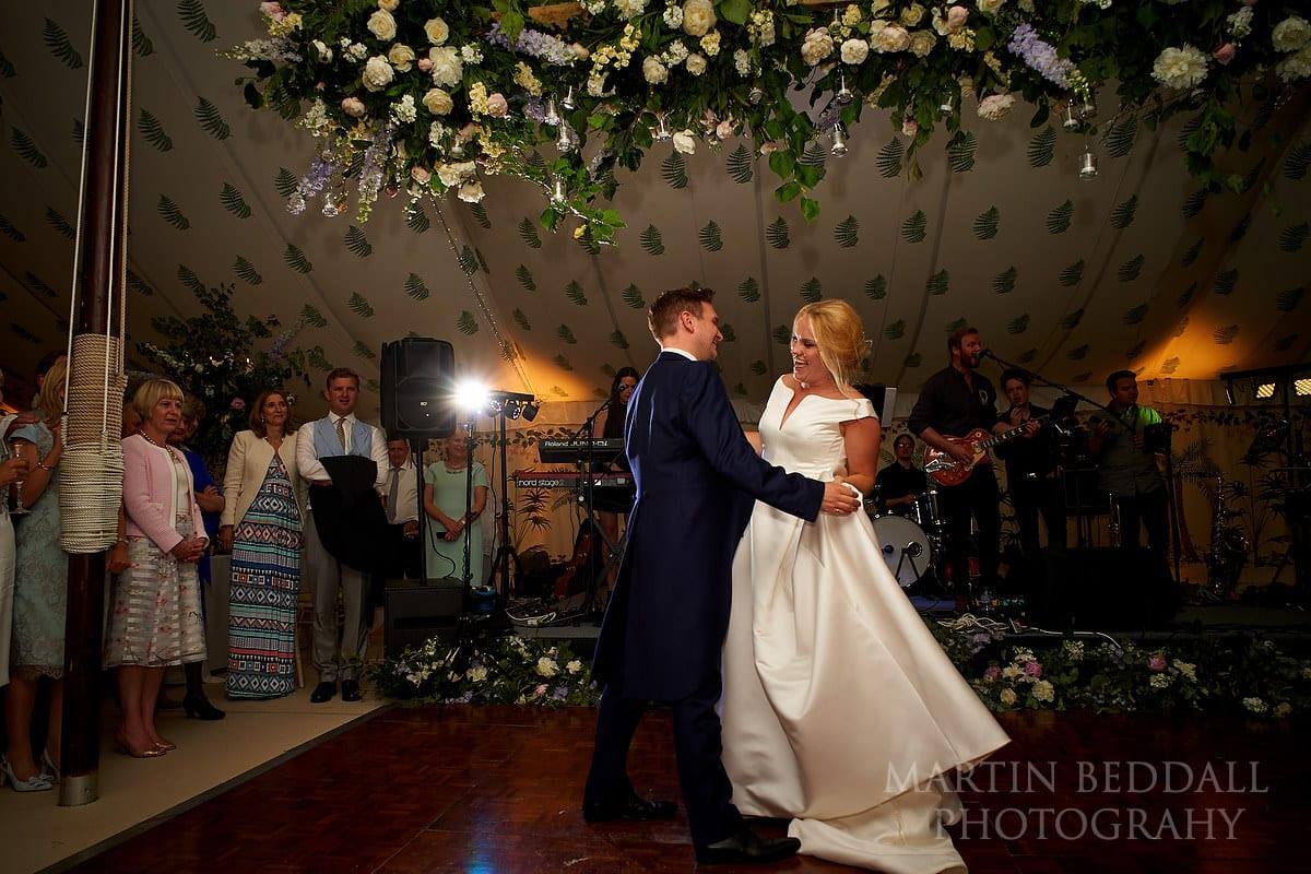 East Horsley wedding first dance
