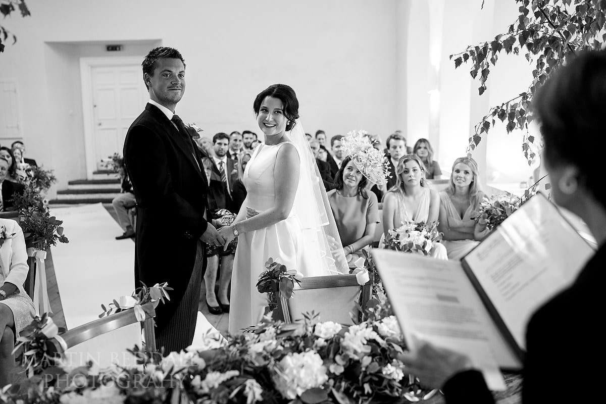 Farnham Castle wedding ceremony