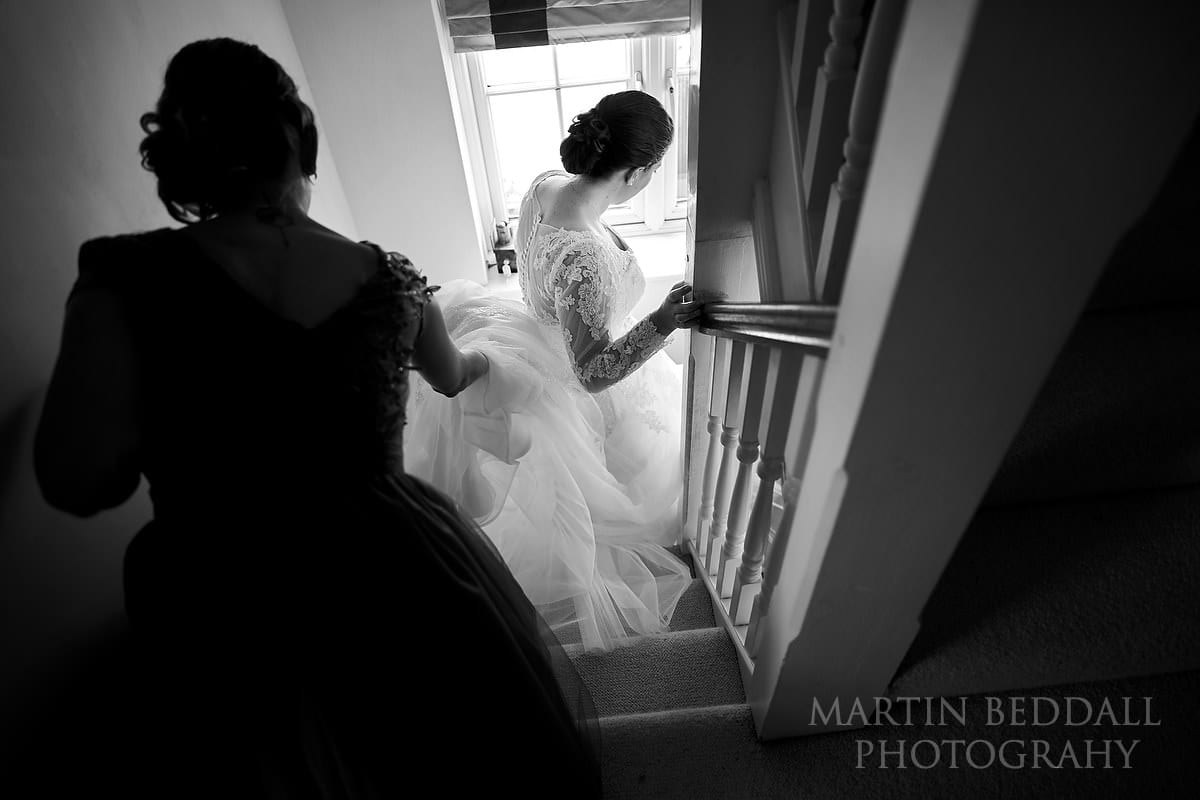 Bride heads to Arundel Cathedral